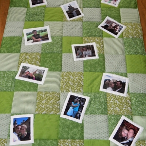 Vzpomínková deka jako svatební dar