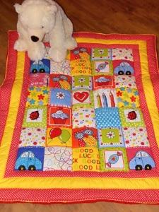 Veselá dětská deka