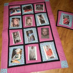 Vzpomínková dětská deka
