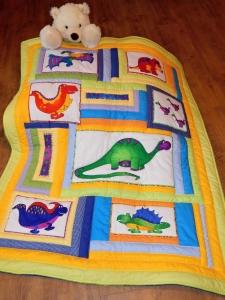 Dinosauří deka