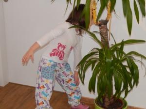 Holínkové domácí kalhoty