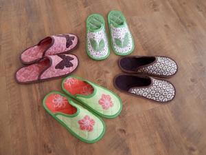 pantofle pro návštěvy