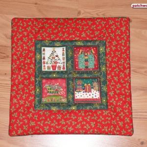 Polštář-vánoční okno
