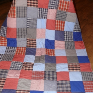 Kostkovaná deka