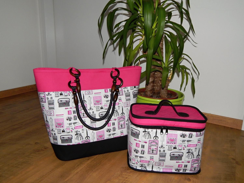 Koš a kufřík na šití