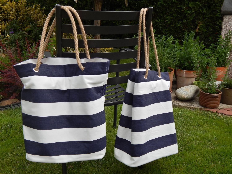 Letní námořnické tašky