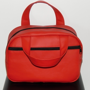 Koženková taška na kosmetiku