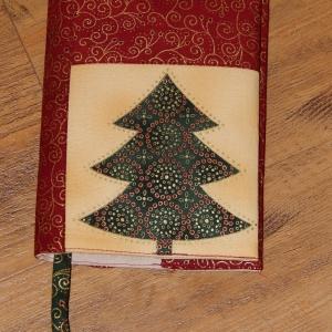 Vánoční obal na knihu