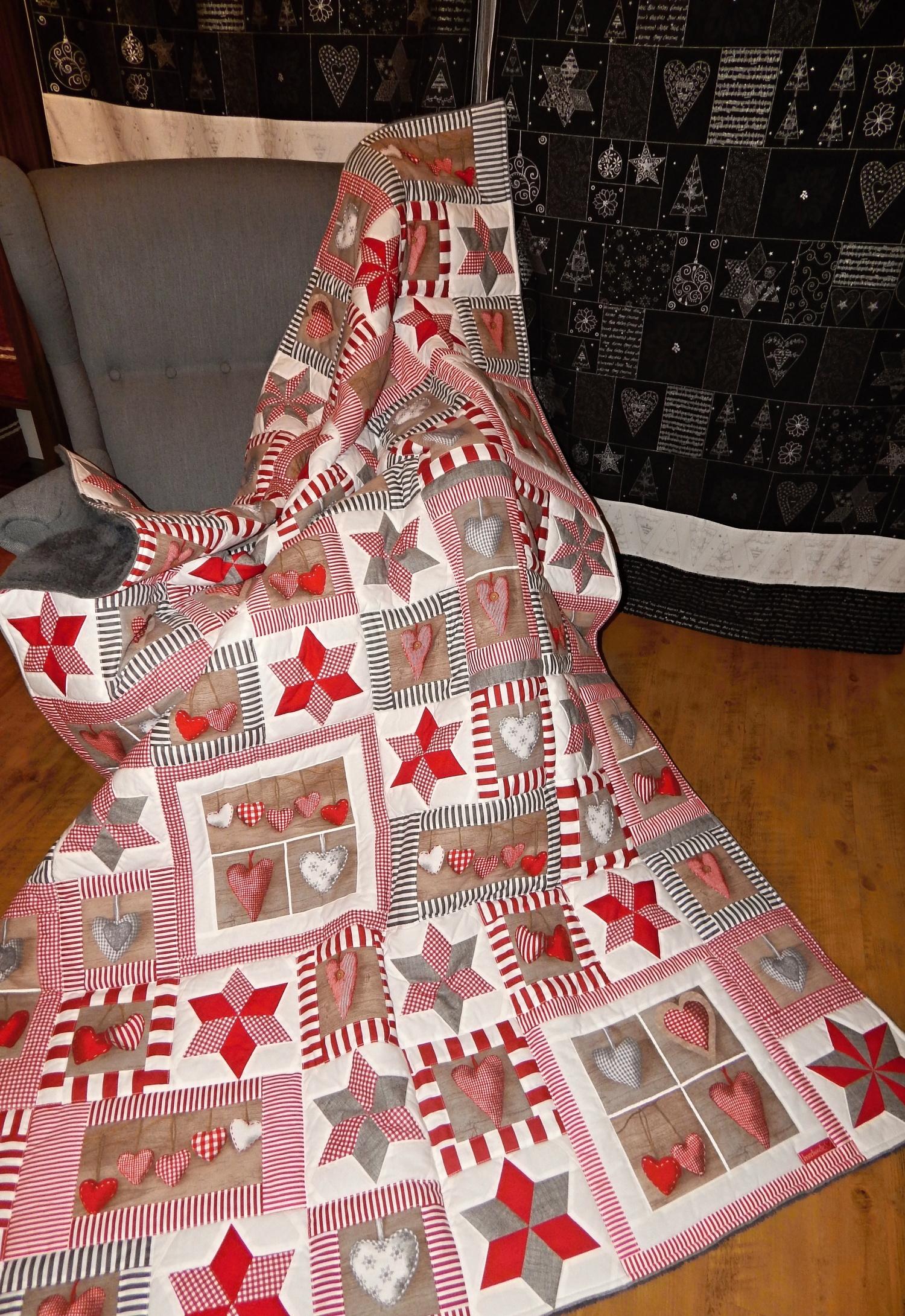 Srdíčková deka pro maminku