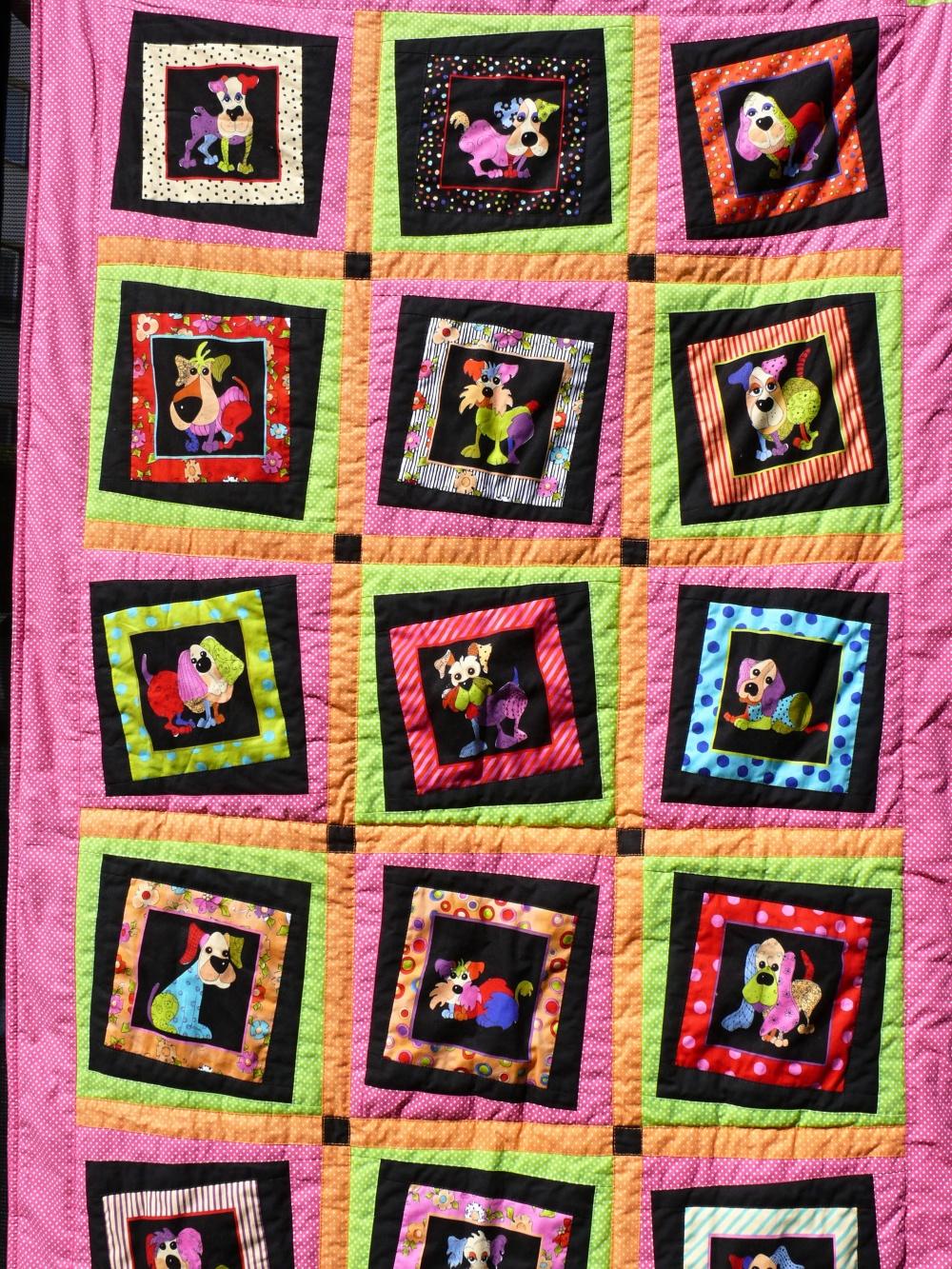Dětská pejsková deka