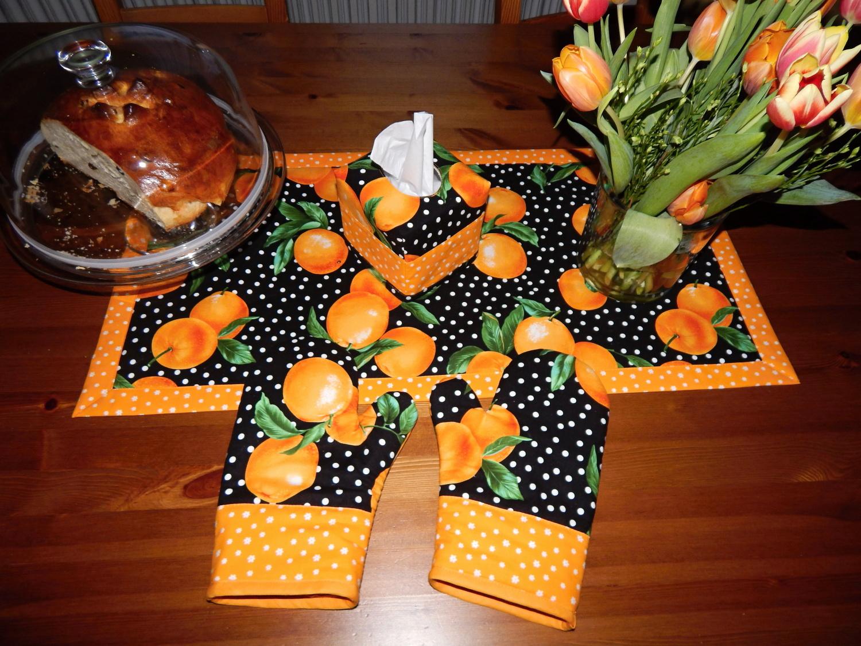Pomerančové chňapky ke štole