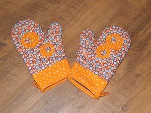 Oranžové chňapky