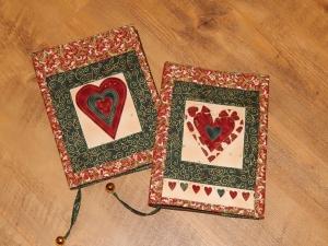 Vánoční obaly na knihy